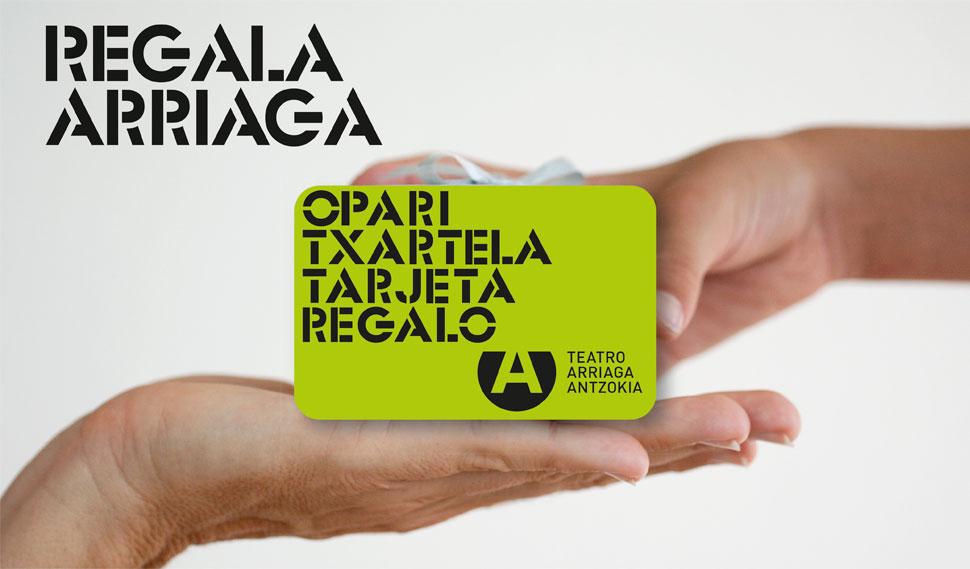 Tarjeta regalo del Teatro Arriaga